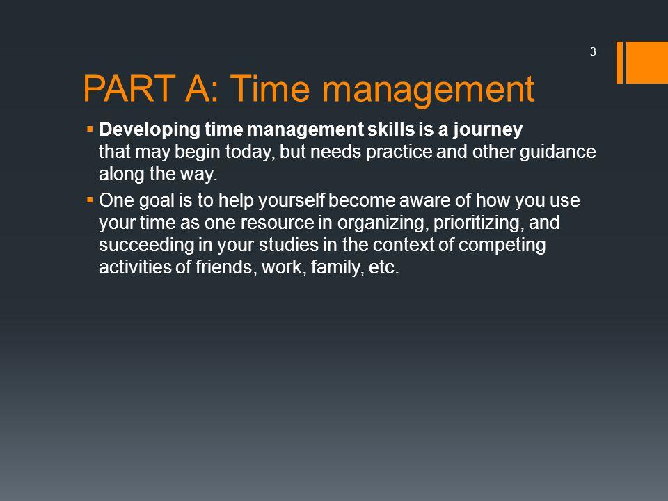 PART A: Time management