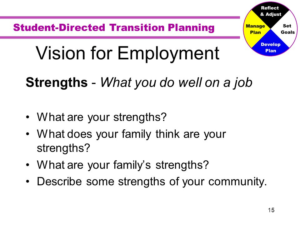 Vision for Employment