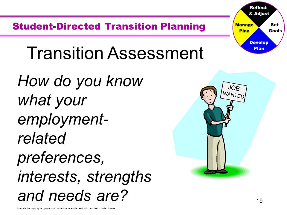 Transition Assessment for Employment