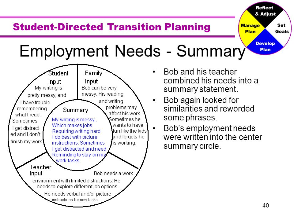 Employment Vision - Statement
