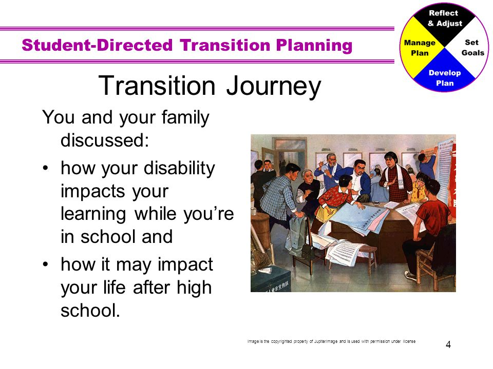 Transition Journey…continued