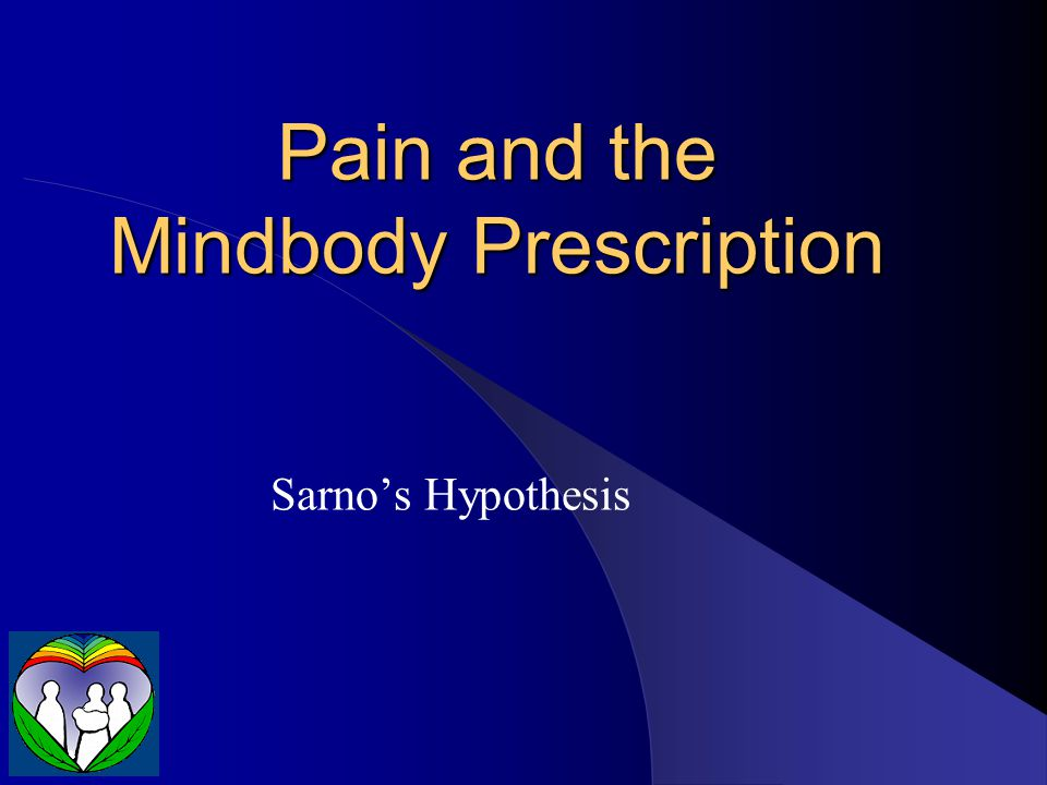 Pain and the Mindbody Prescription