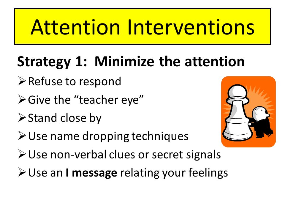 Attention Interventions