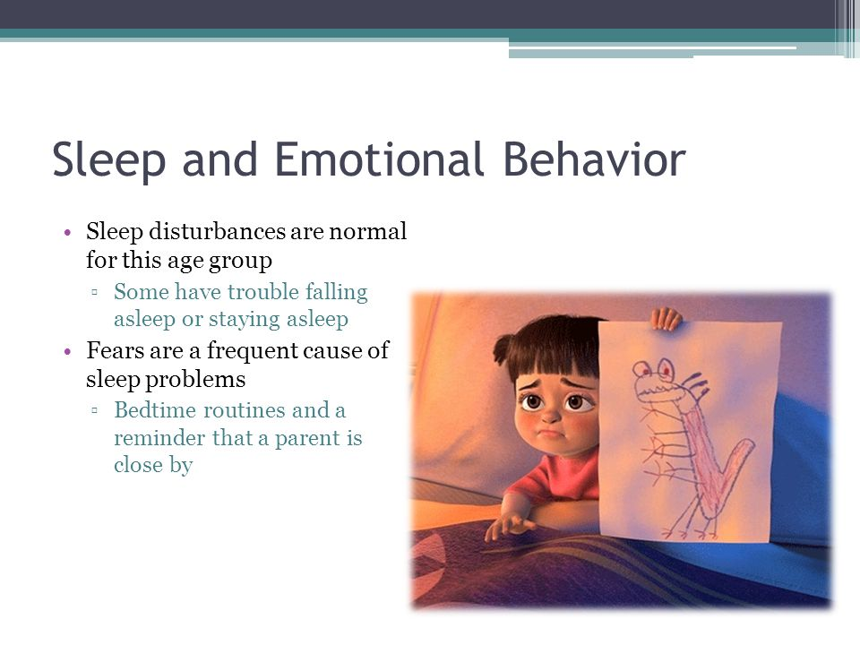 Sleep and Emotional Behavior