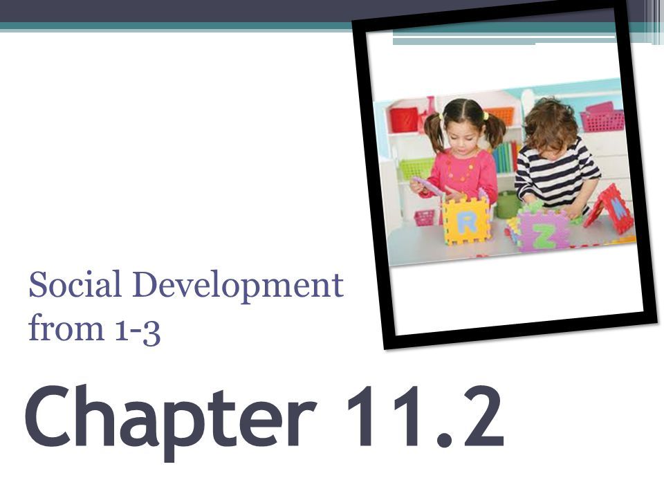 Social Development from 1-3