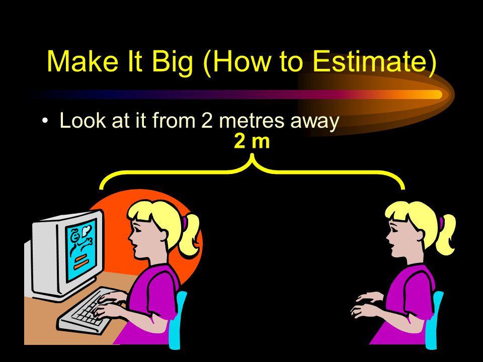 Make It Big (How to Estimate)