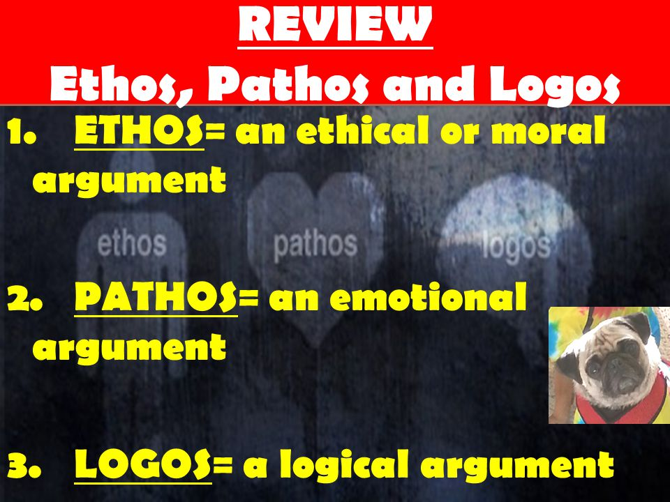 REVIEW Ethos, Pathos and Logos