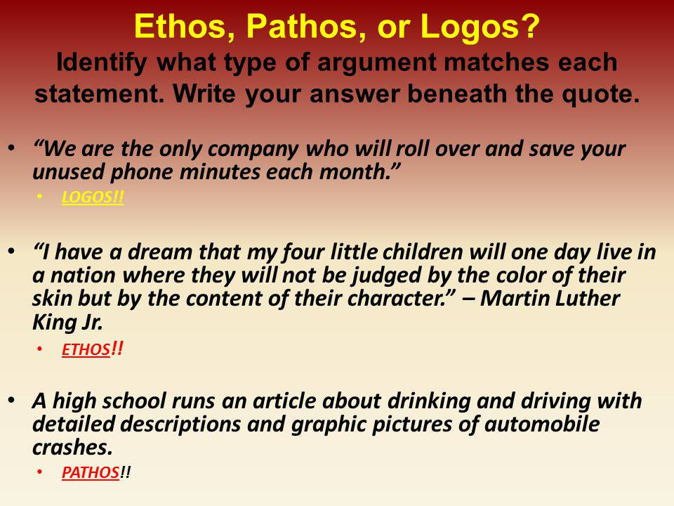 Ethos And Pathos In I Have A Dream By Martin Luther King