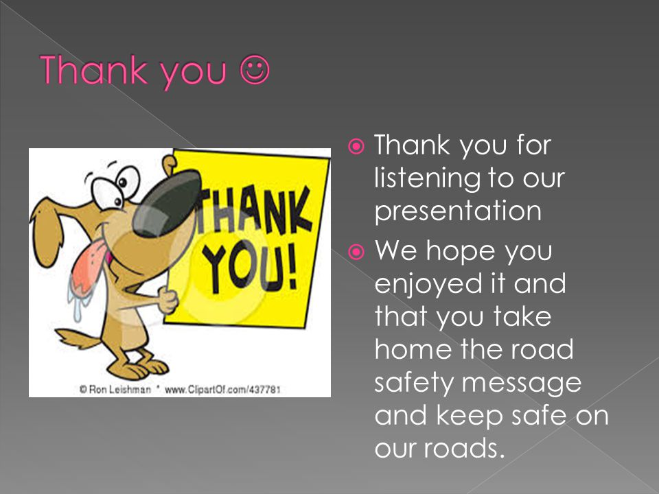 Thank you  Thank you for listening to our presentation