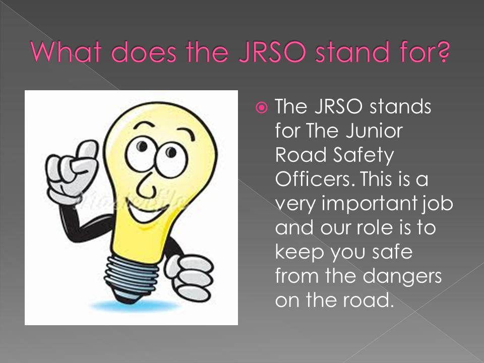 What does the JRSO stand for