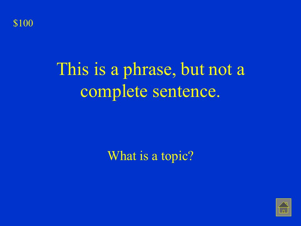 This is a phrase, but not a complete sentence.