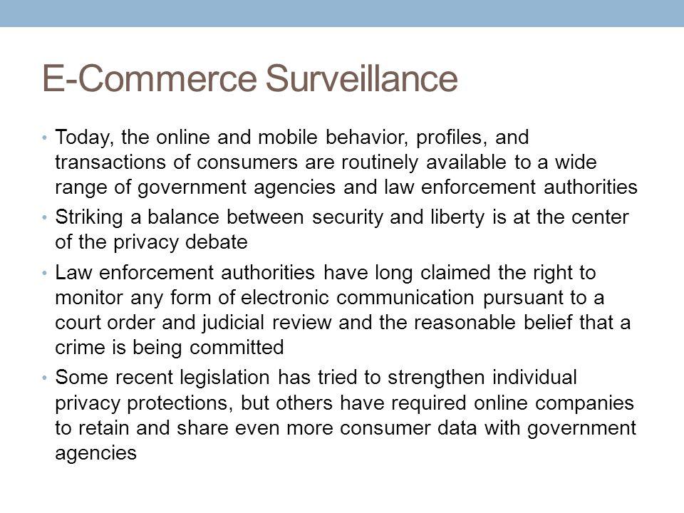 E-Commerce Surveillance
