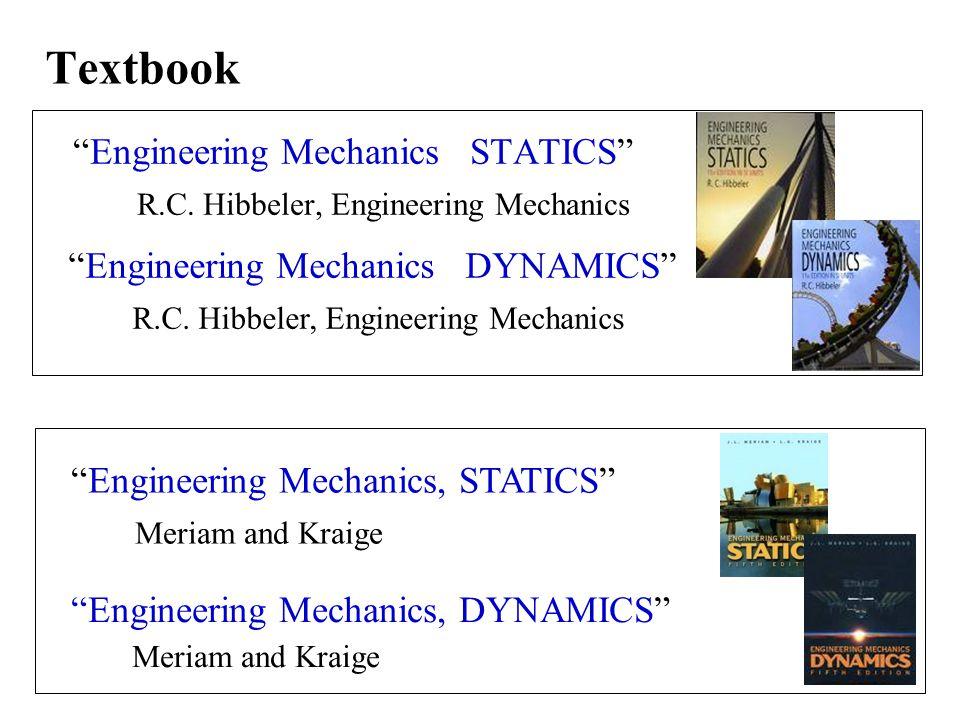 Textbook Engineering Mechanics STATICS