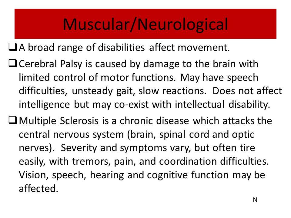 Muscular/Neurological