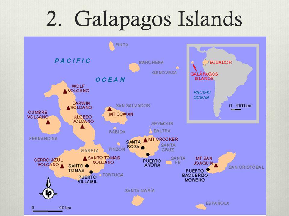 2. Galapagos Islands