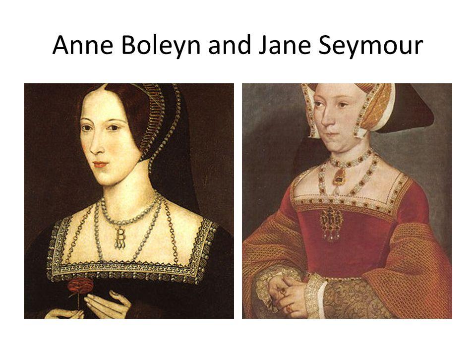 Anne Boleyn and Jane Seymour