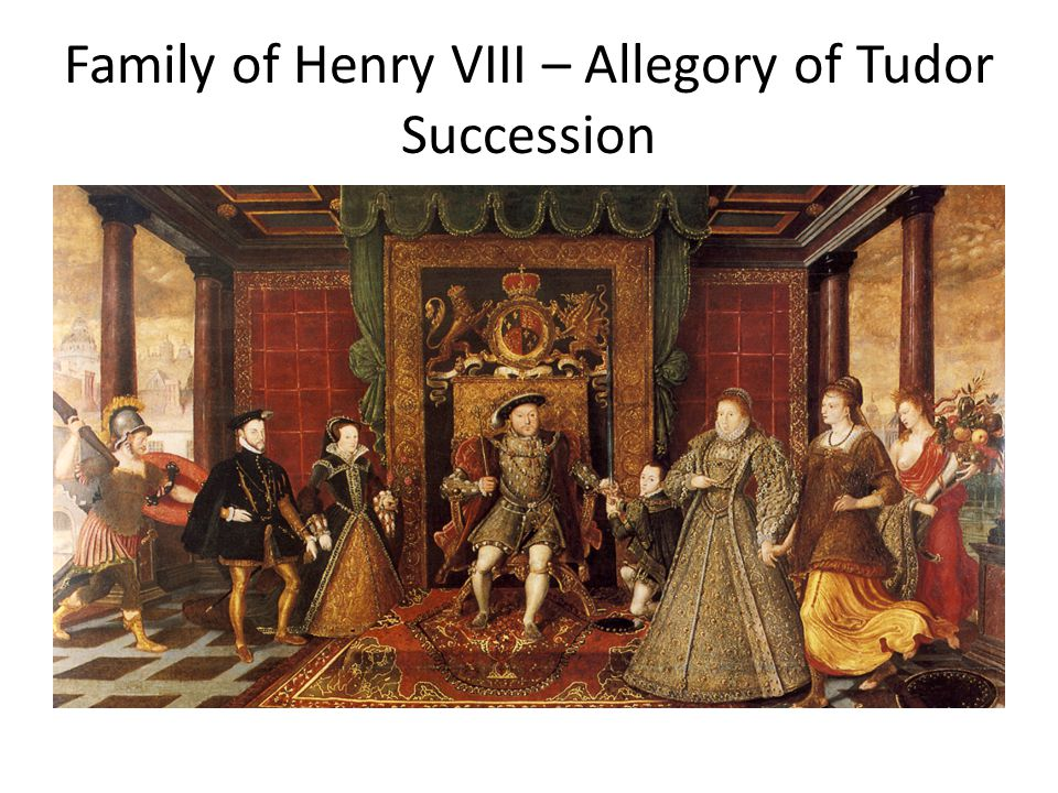 Family of Henry VIII – Allegory of Tudor Succession