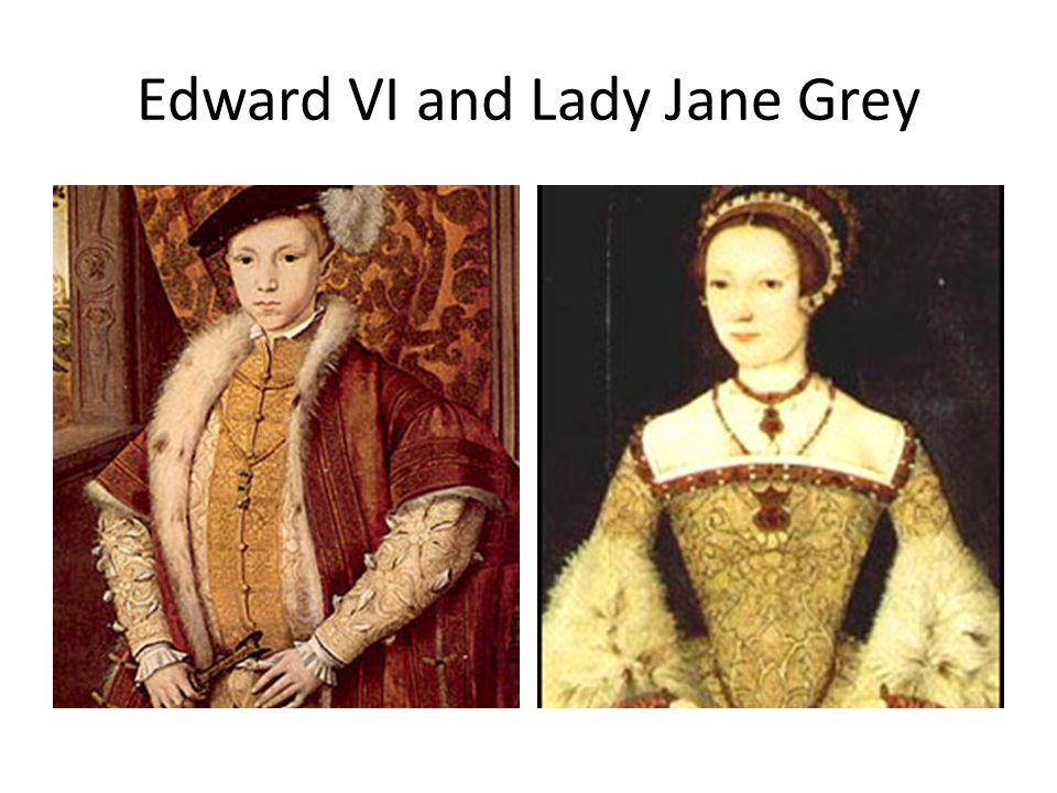 relationship between lady jane grey and edward vi