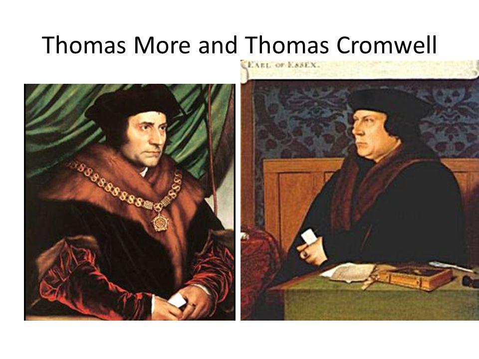 Thomas More and Thomas Cromwell