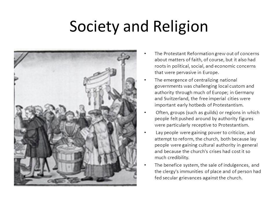 Society and Religion