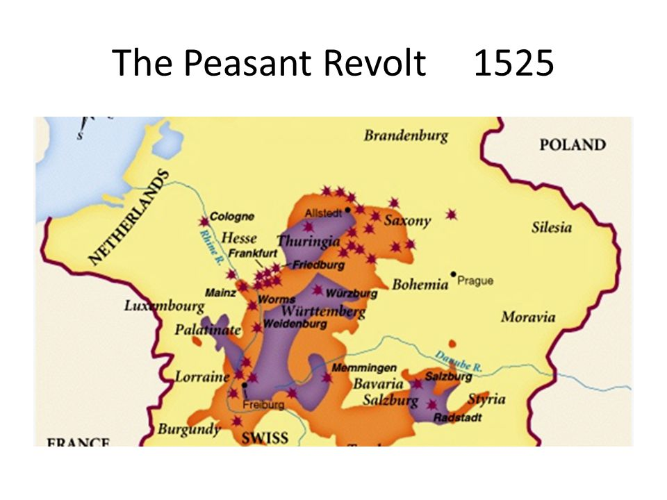 The Peasant Revolt 1525