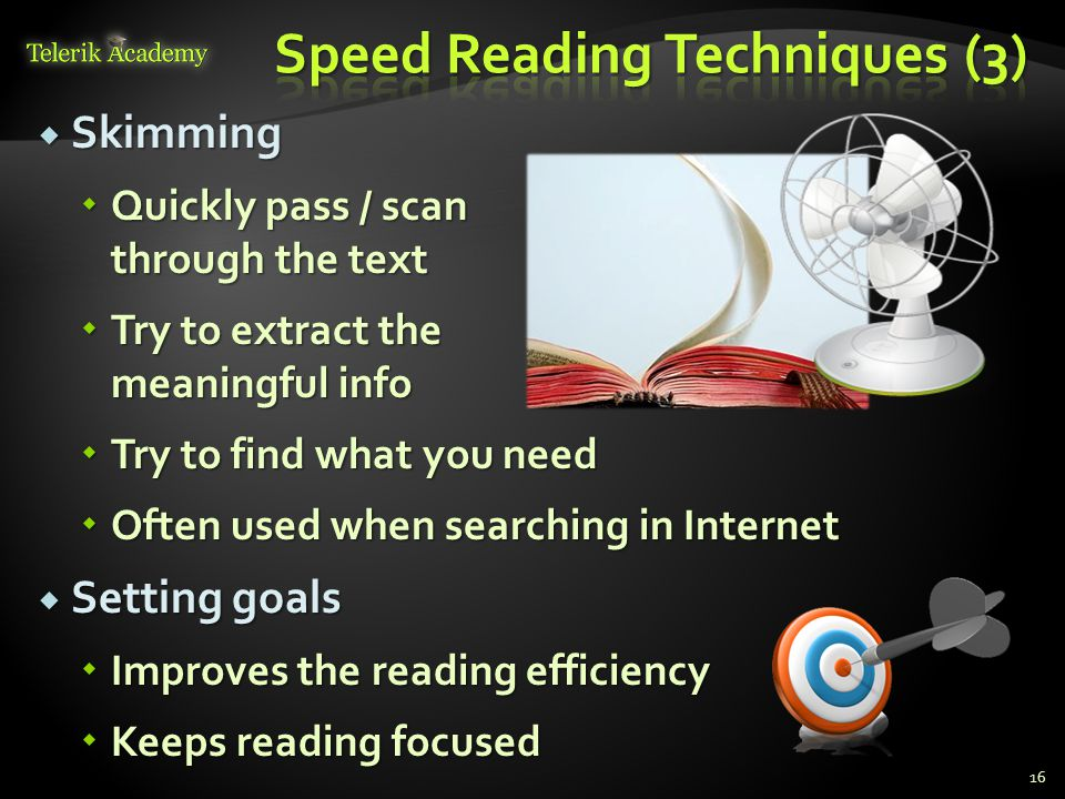 Speed Reading Techniques (3)