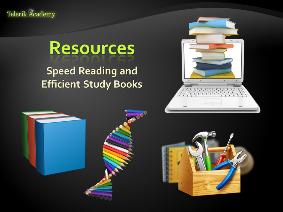 Speed Reading and Efficient Study Books