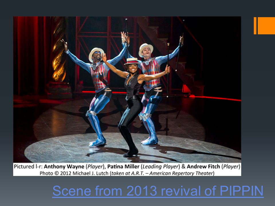 Scene from 2013 revival of PIPPIN