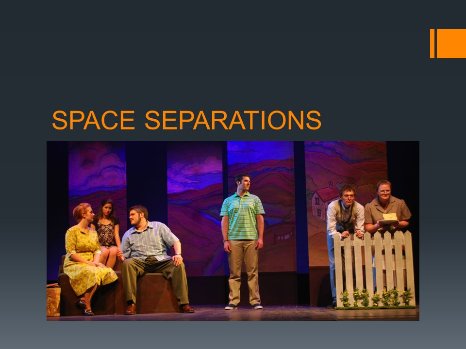 SPACE SEPARATIONS