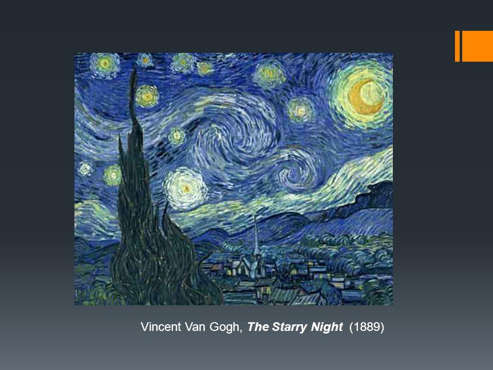 Vincent Van Gogh, The Starry Night (1889)