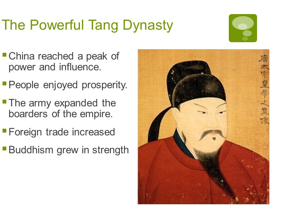 The Powerful Tang Dynasty