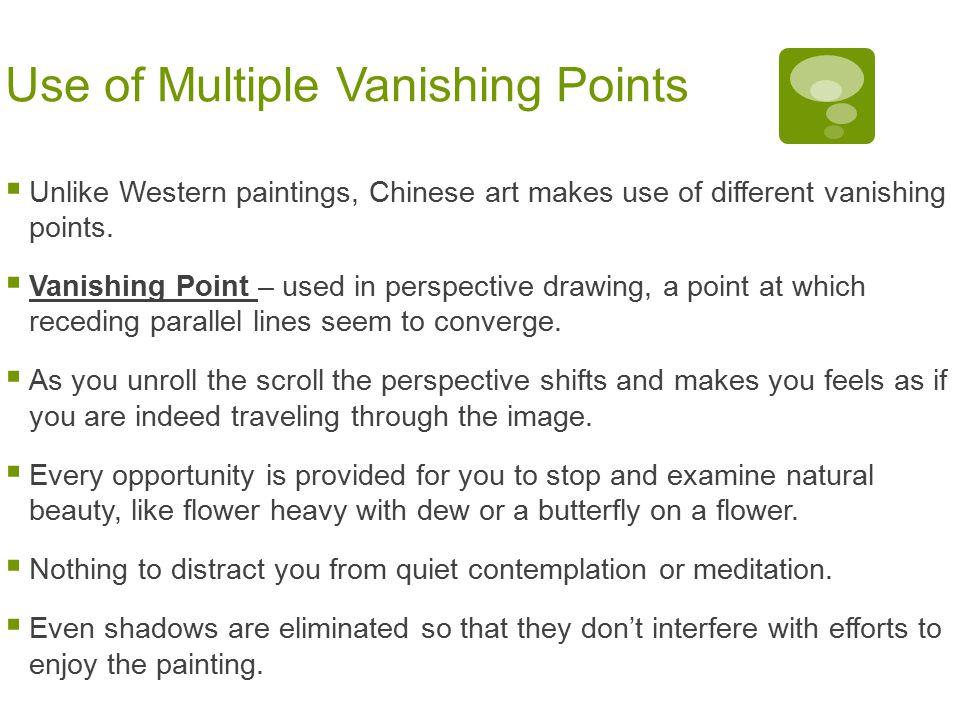 Use of Multiple Vanishing Points