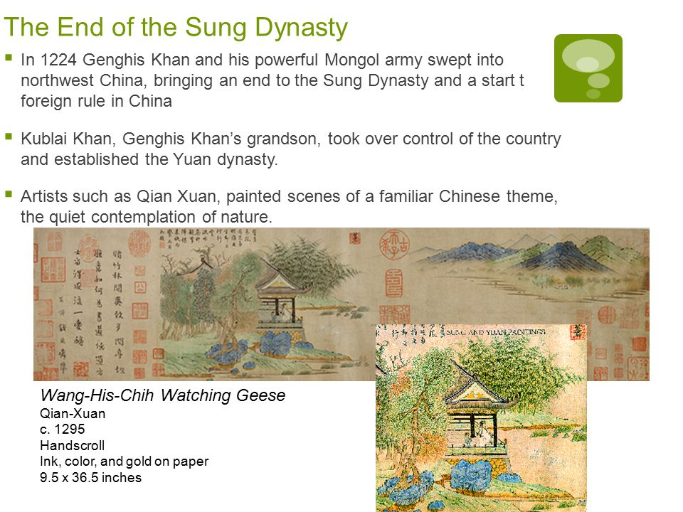 The End of the Sung Dynasty