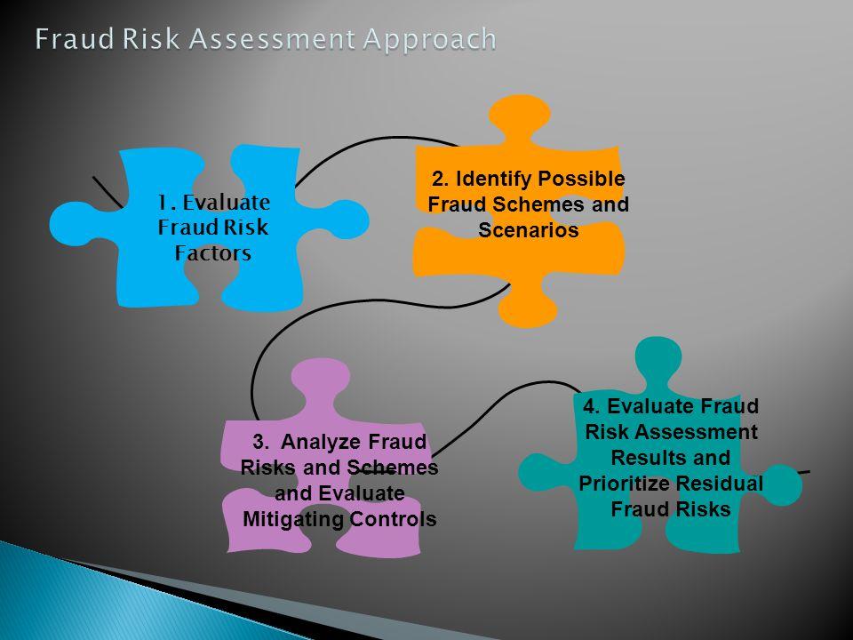 Fraud Risk Assessment Approach