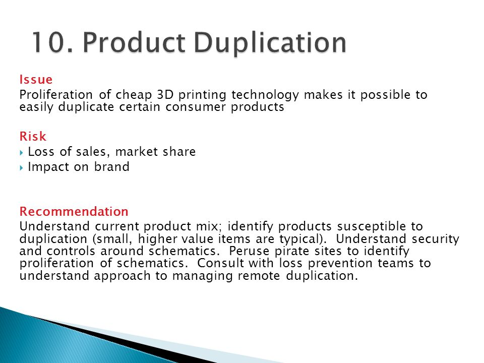10. Product Duplication Issue