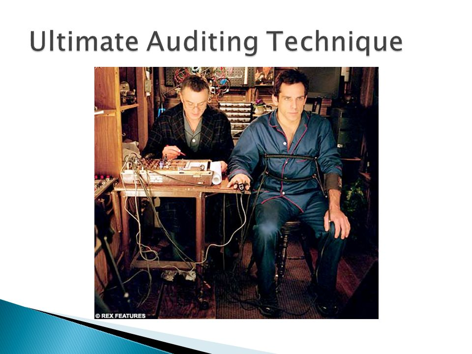 Ultimate Auditing Technique