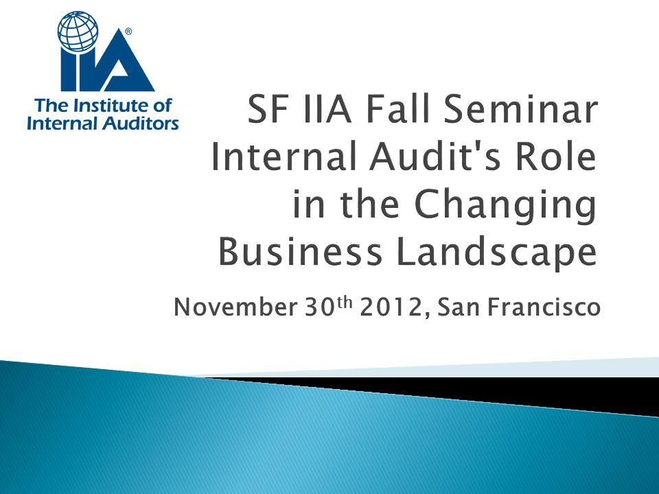 November 30th 2012, San Francisco
