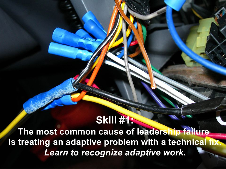 Skill #1: The most common cause of leadership failure