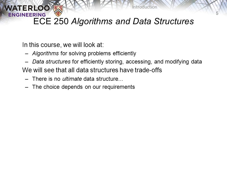ECE 250 Algorithms and Data Structures