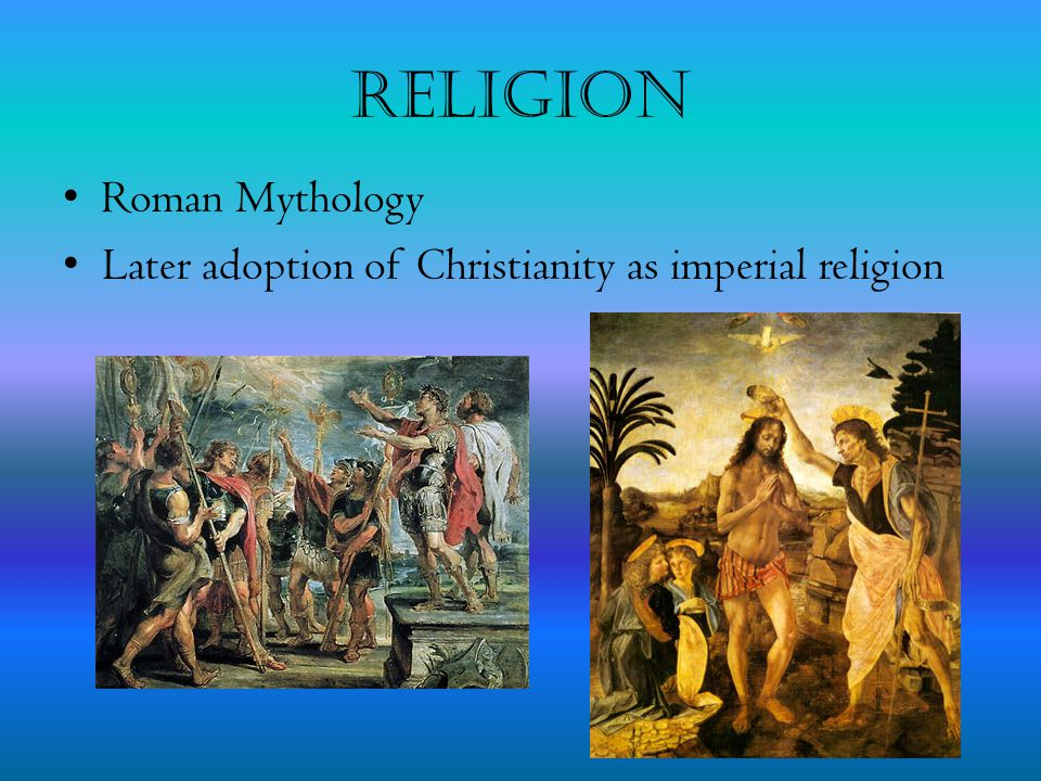 Religion Roman Mythology