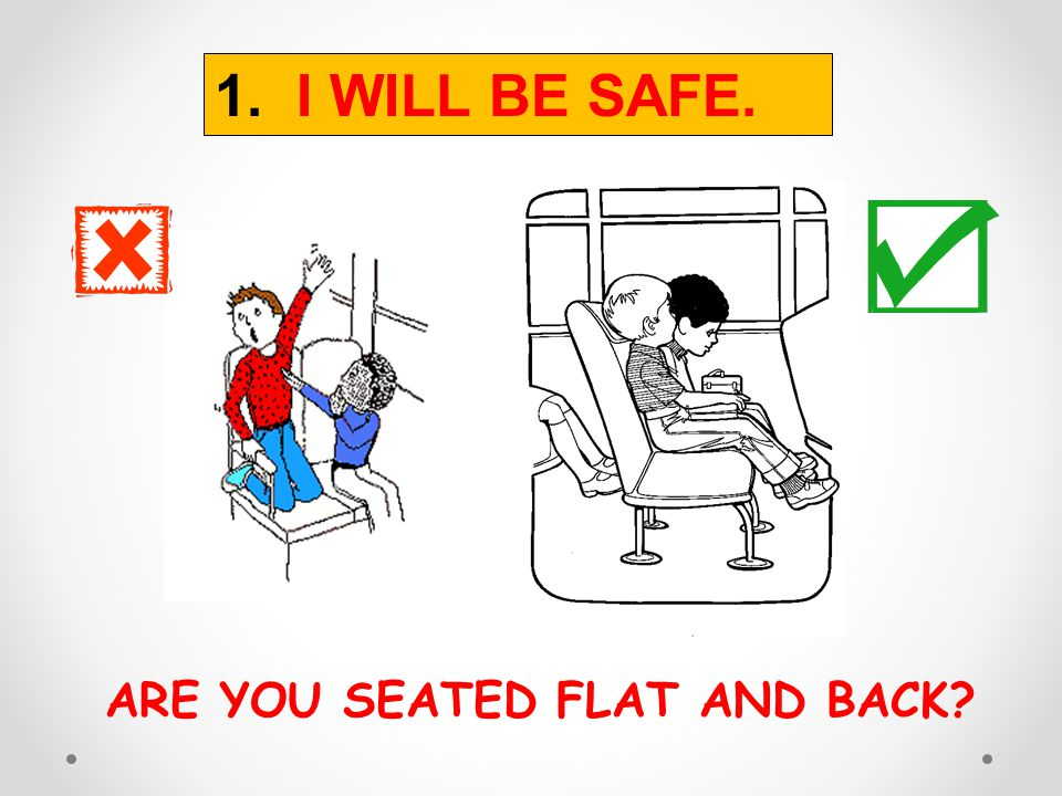 ARE YOU SEATED FLAT AND BACK