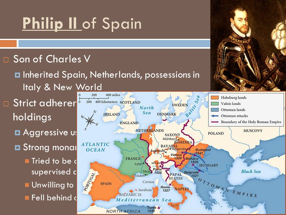 Philip II of Spain Son of Charles V
