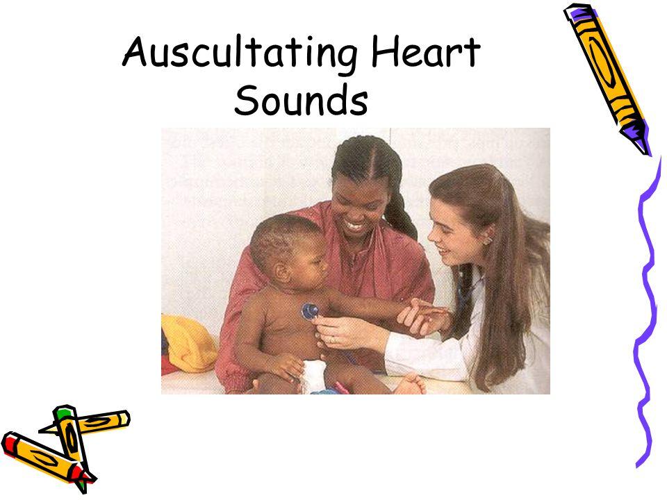 Auscultating Heart Sounds