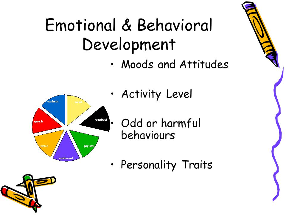 Emotional & Behavioral Development