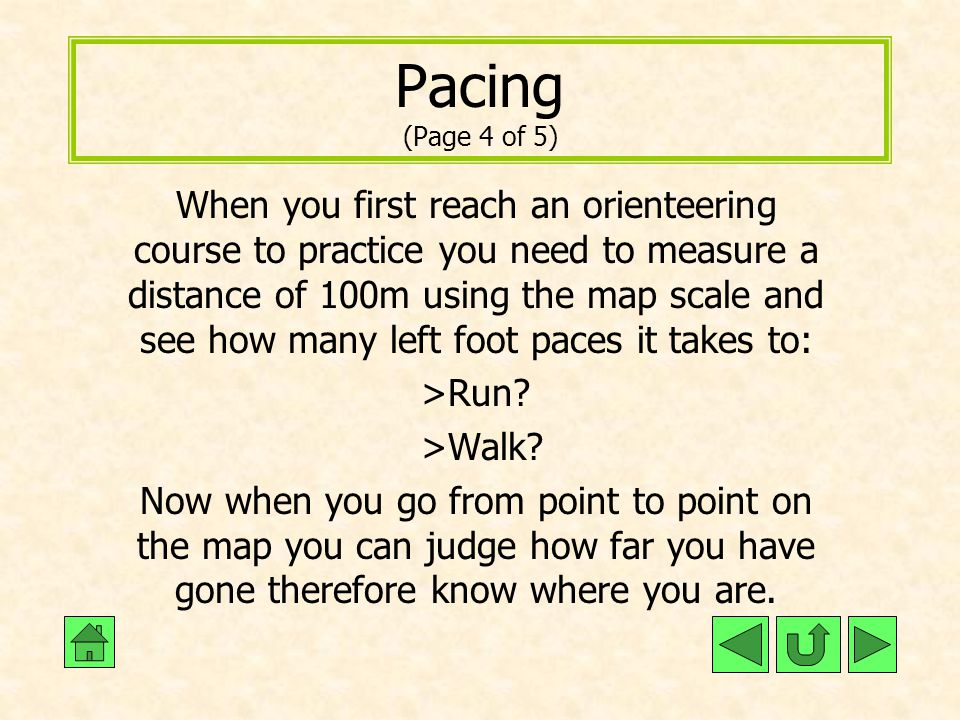 Pacing (Page 4 of 5)