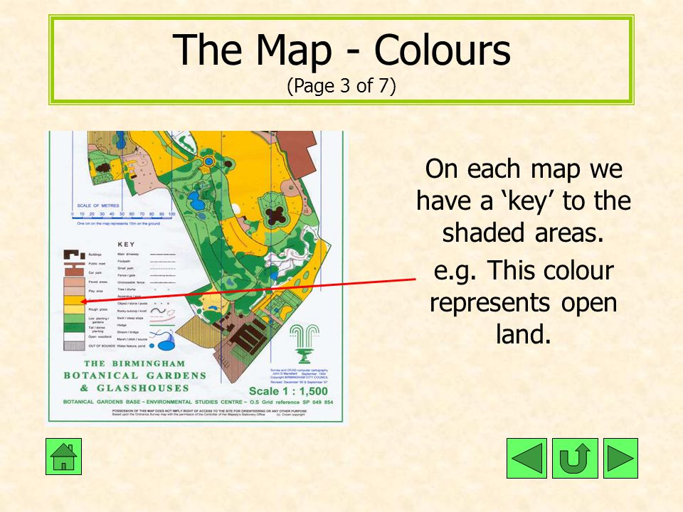 The Map - Colours (Page 3 of 7)