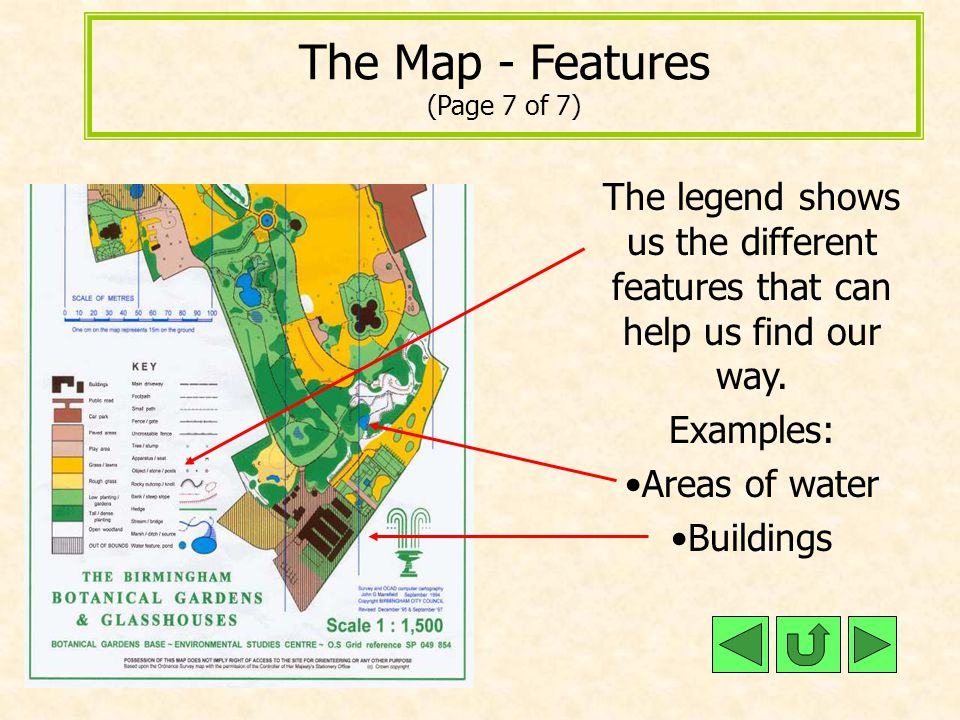 The Map - Features (Page 7 of 7)