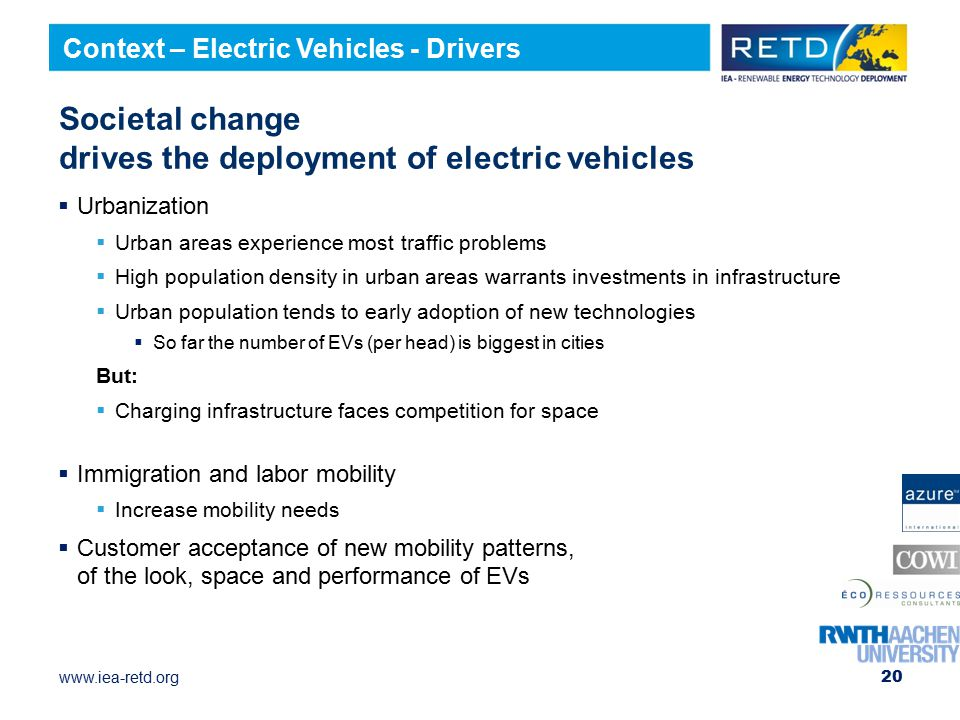 Societal change drives the deployment of electric vehicles