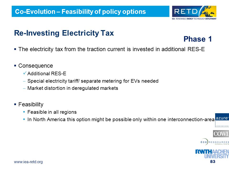 Re-Investing Electricity Tax