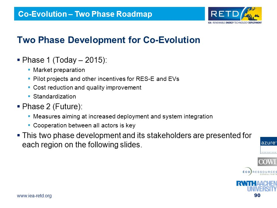 Two Phase Development for Co-Evolution